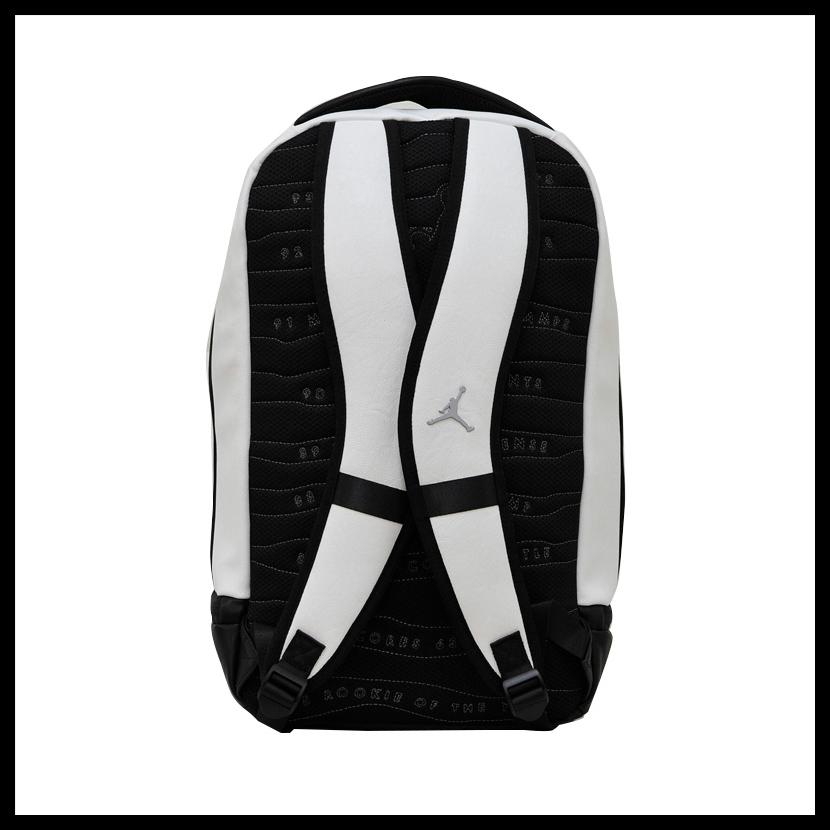 NIKE (Nike) JORDAN RETRO 10 BACKPACK (10 Jordan nostalgic backpacks) men s    Lady s day pack rucksack SUMMIT WHITE BLACK WOLF GREY (white   black)  9A0037 ... b4d2e7d278779