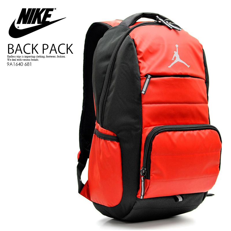 30425430af3b NIKE (Nike) JORDAN ALL WORLD BACKPACK (Jordan oar world backpack) men s    Lady s unisex day pack rucksack GYM RED BLACK (red   black) 9A1640 681  ENDLESS ...