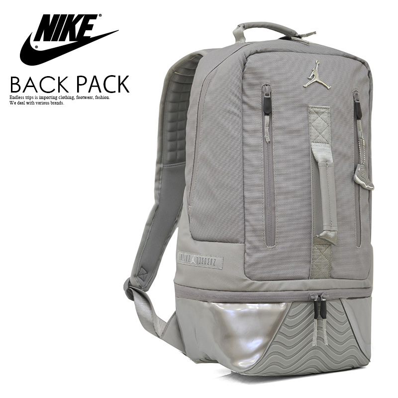 5581cdde2ea2 NIKE (Nike) JORDAN RETRO 11 BACKPACK (11 Jordan nostalgic backpacks) men s    Lady s day pack rucksack COOL GREY (gray) 9A1971 G3X ENDLESS TRIP  ENDLESSTRIP ...