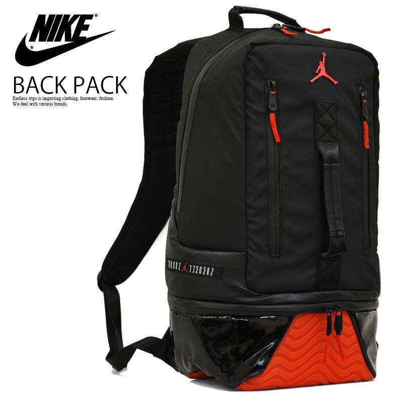 008025ea4356 NIKE (Nike) JORDAN RETRO 11 BACKPACK (11 Jordan nostalgic backpacks) men s    Lady s day pack rucksack BLACK GYM RED (black   red) 9A1971 KR5 ENDLESS  TRIP ...