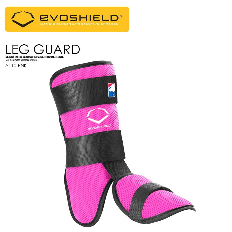 【日本未入荷! 希少! ユニセックス ベースボール レッグ ガード】 EVOSHIELD (エボシールド) CUSTOM-MOLDING LEG GUARD 野球 バッター用 フットガード スネ 甲 当て メンズ レディース PINK (ピンク) PINK A110-PNK