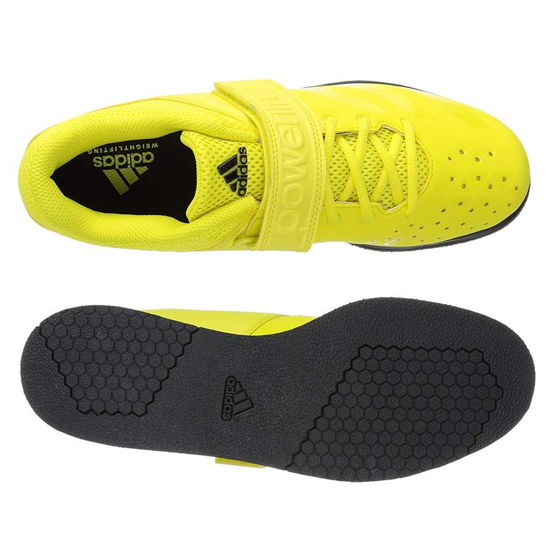 adidas (Adidas) POWERLIFT. 3.1 (power lift) men's lady's powerlifting weightlifting weight lifting shoes SHOCK YELLOWSHOCK YELLOWBLACK (yellow