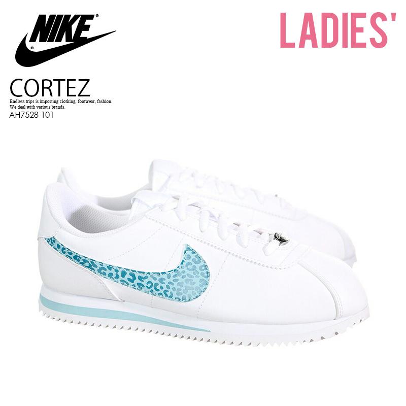 premium selection 848b0 3c1f6 NIKE (Nike) CORTEZ BASIC SL (GS) (コルテッツベーシック) kids model sneakers WHITE OCEAN  BLISS-NOISE AQUA (white   blue) AH7528 101 ENDLESS TRIP pickup