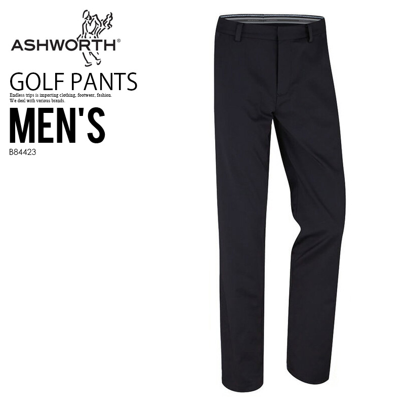 ASHWORTH (아슈워스) SYNTHETIC STRETCH FLAT FRONT PANT