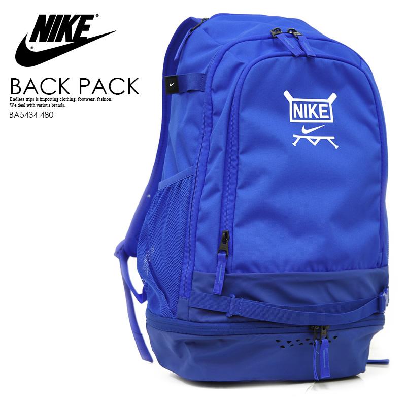 【日本未入荷! 海外限定!】NIKE (ナイキ) VAPOR SELECT BACKPACK (ヴェイパー セレクト バックパック) メンズ/レディース デイパック リュック バットバッグ ROYAL BLUE (ロイヤルブルー) BA5434 480 エンドレストリップ