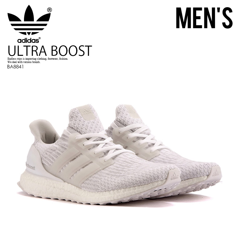 differently 8a2a4 8c40f adidas (Adidas) ULTRA BOOST (ultra boost) MENS sneakers RUNNING WHITE  FTW/RUNNING WHITE (white) BA8841 ENDLESS TRIP ENDLESSTRIP end rest lip