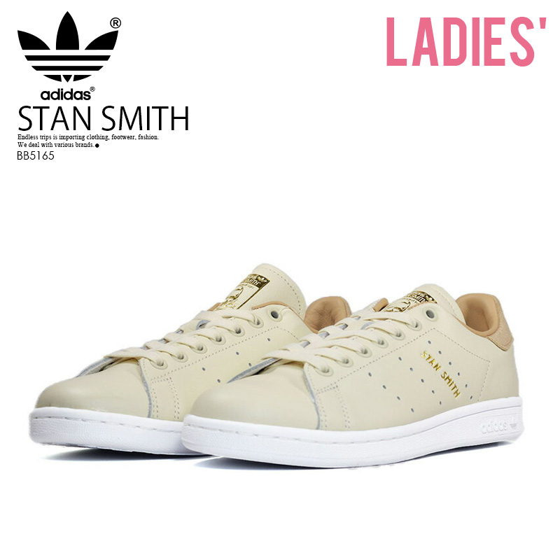 watch 35f4f 1a0eb adidas (Adidas) STAN SMITH W (Stan Smith) Ladys sneakers suede vintage  style FTWWHTFTWWHTST PALE NUDE (white  beige) BB5165 ENDLESS TRIP  ENDLESSTRIP end ...