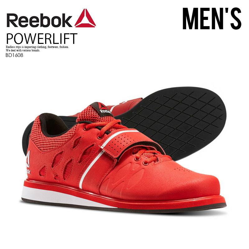 b852031d1e90 Reebok (Reebok) LIFTER PR (lifter) MENS cross fitness training powerlifting  weight lifting shoes RED BLACK WHITE (red   black   white) BD1608 ENDLESS  TRIP ...