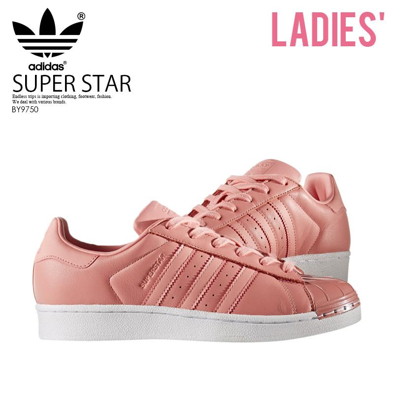 premium selection 2e4c5 2da9b ENDLESS TRIP adidas (Adidas) SUPERSTAR METAL TOE W (superstar metal toe)  sneakers TACROSTACROSFTWWHT (pink) BY9750 ENDLESS TRIP ENDLESSTRIP end  rest lip ...