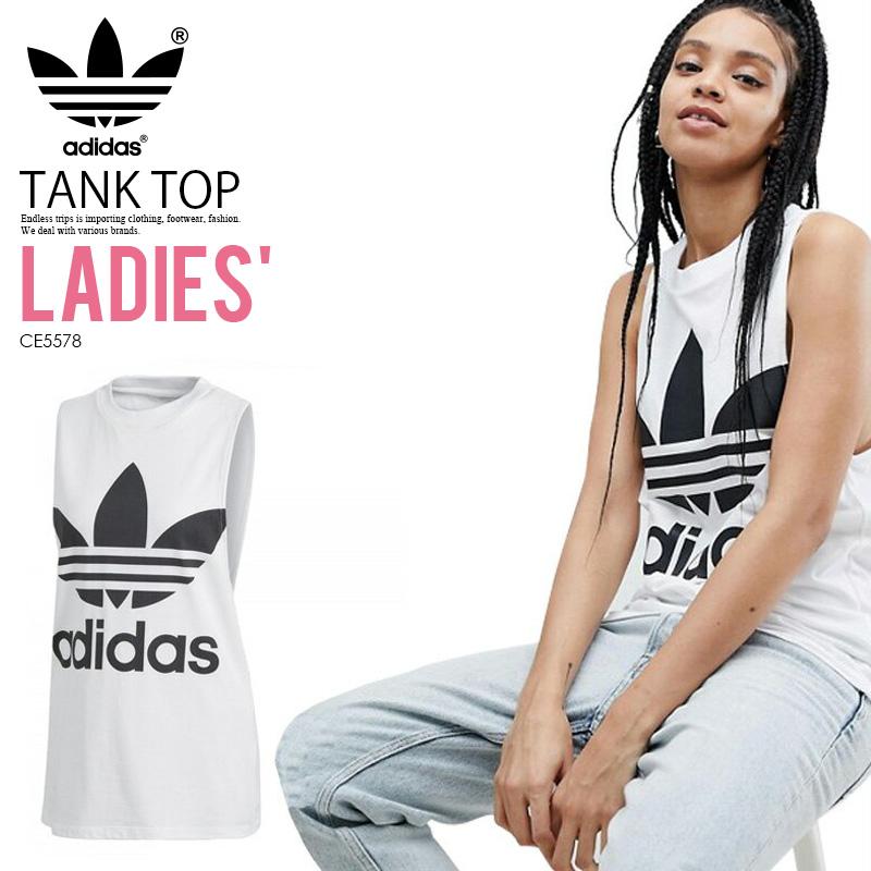a9931f4eae5 adidas (Adidas) WOMENS TREFOIL TANK TOP [TREFOIL TANK] (トレフォイルタンクトップ ...