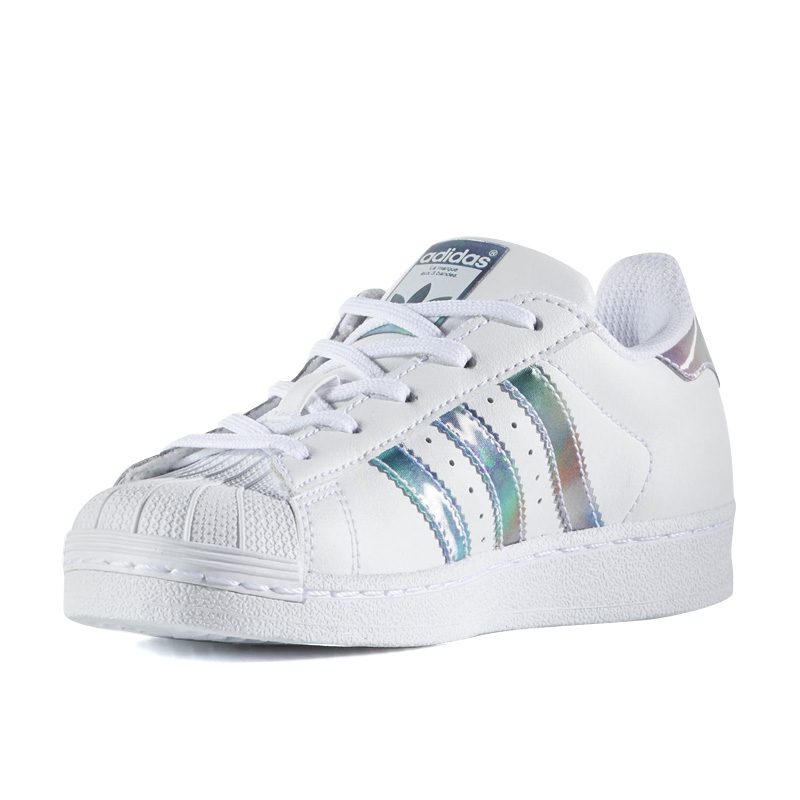 new style e618a 17a8c Rakuten supermarket SALE! adidas (Adidas) SUPERSTAR C (superstar C) baby &  kids kids sneakers infant sneakers youth FTWWHT/FTWWHT/GOLDMT (white) ...