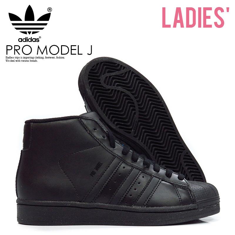 ENDLESS TRIP | Rakuten Global Market: adidas (Adidas) PRO MODEL J (professional model) higher frequency elimination WOMENS women sneakers shoes CBLACK/CBLACK/CBLACK (black) D69361 ENDLESS TRIP ENDLESSTRIP end rest lip