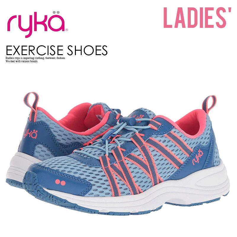 b3d6575c5471 RYKA (Leica) AQUA SPORT (aqua sports) women Sudan s footness exercise shoes  sneakers BLU CORAL (blue   Coral) E9849M1400 ENDLESS TRIP ENDLESSTRIP end  rest ...