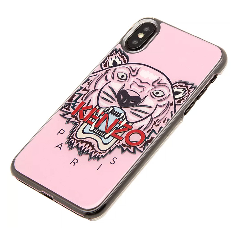 e2db7973a1 KENZO (Kenzo) KENZO SILICONE TIGER IPHONE X CASE (silicon tiger iphone X  case) iphone case smartphone case eyephone X iPhone X-adaptive PINK (pink)  ...