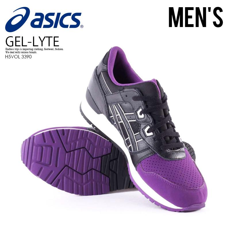 919746e181c9 Can ship Asics Tiger (ASICS tiger) GEL-Lyte III PURPLE BLACK gel light 3  men s purple   black (H5VOL 3390) immediately  ENDLESS TRIP ENDLESSTRIP end  rest ...