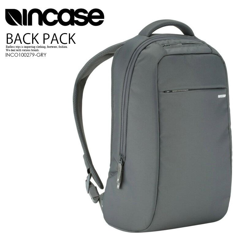 【大人気!!入手困難】INCASE (インケース) ICON LITE PACK (アイコン コンパクトライト パック) メンズ/レディース ユニセックス デイパック リュック GREY (グレー) INCO100279-GRY ENDLESS TRIP pickup