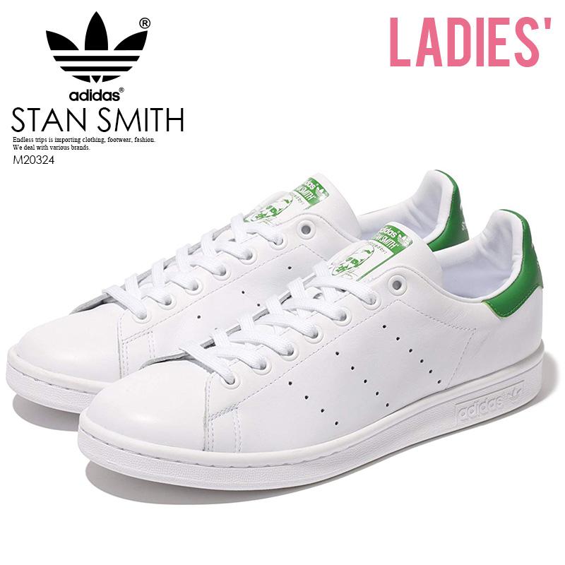【レディース】 adidas Stan Smith Sneaker アディダス スタンスミス レディース シューズ スニーカー Core White/ Green (白/緑) ホワイト グリーン M20324 【即日発送】 ENDLESS TRIP pickup