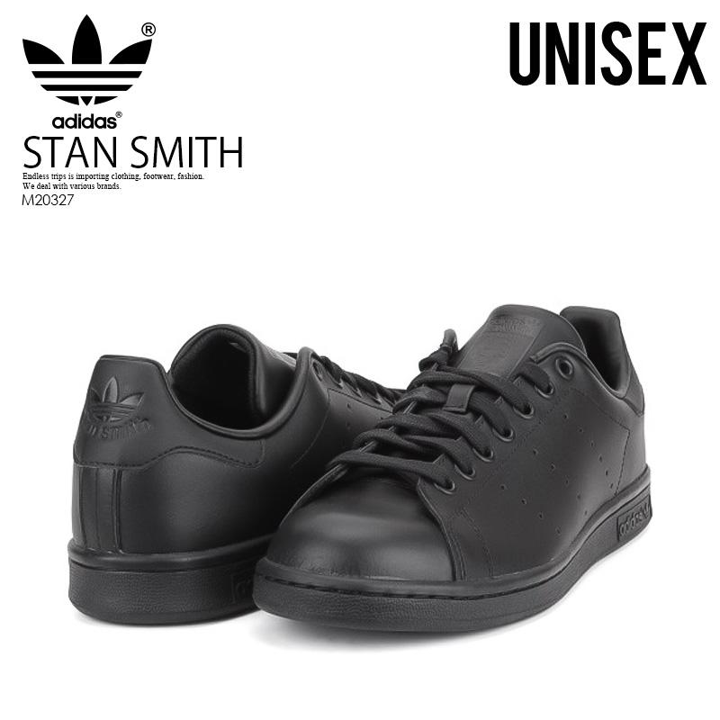 competitive price 8c5db c1f97 ENDLESS TRIP adidas ORIGINALS (adidas) STAN SMITH (Stan) ladies mens shoes  sneakers BLACK1BLACK1BLACK1 (black) M20327  Rakuten Global Market