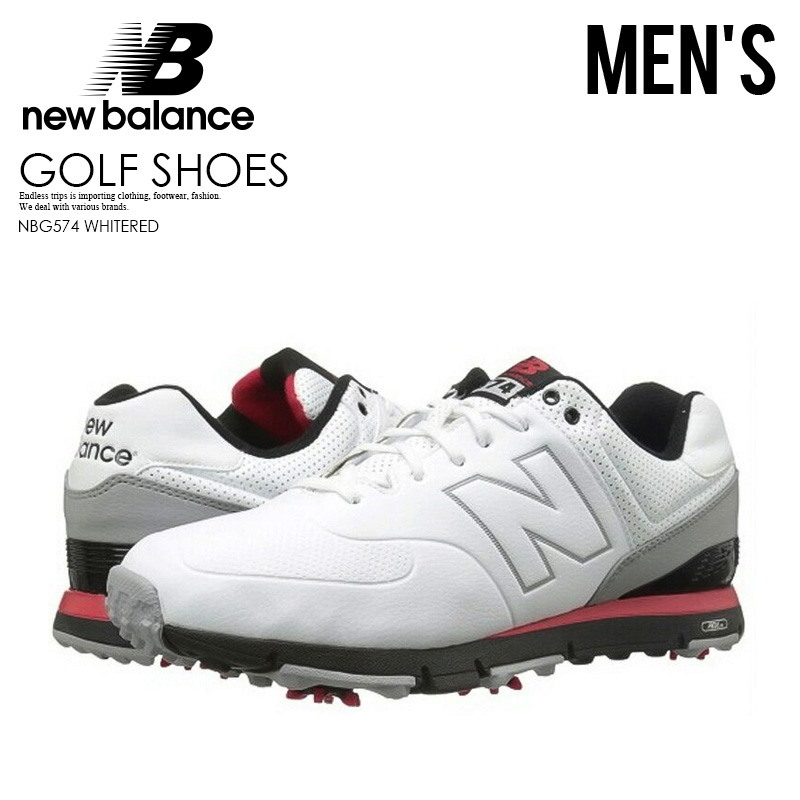 sports shoes 120aa b5706 NEW BALANCE (New Balance) NBG574 (WHITE/RED) 574 white / red (slightly wide  | 2E= average | 4E= slightly rather thin D=) | ENDLESS TRIP ENDLESSTRIP ...