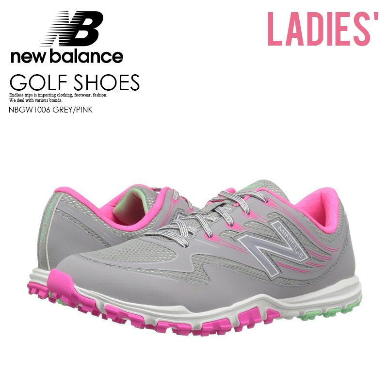 0789a7b94cc66 NEW BALANCE (New Balance) NBGW1006 MINIMUS GOLF SHOES (mini-trout golf shoes  ...