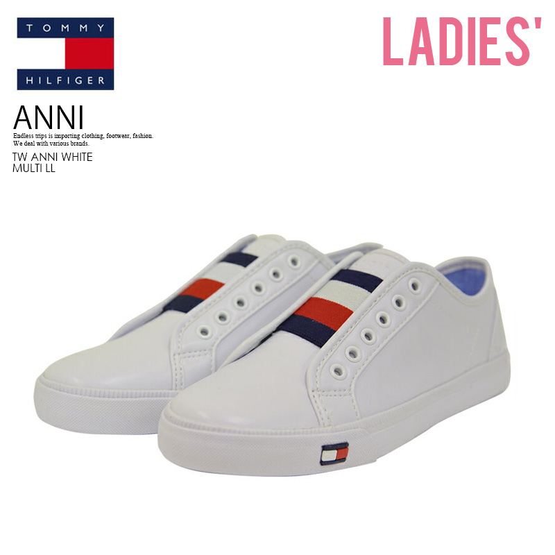 bf87dba3a0ba TOMMY HILFIGER (トミーヒルフィガー) WOMENS ANNI (アンニ) WOMENS women sneakers WHITE  MULTI LL (white) TW ANNI WHITE MULTI LL ENDLESS TRIP ENDLESSTRIP end ...