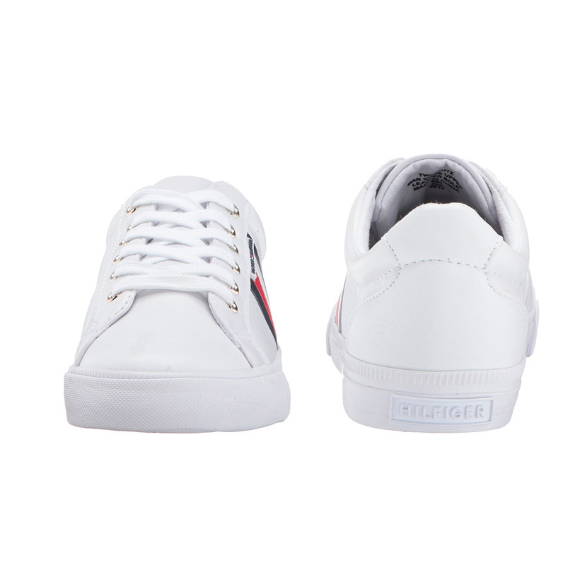 732376ce ... TOMMY HILFIGER (トミーヒルフィガー) WOMENS LIGHTZ (rights) sneakers WHITE MULTI ( white