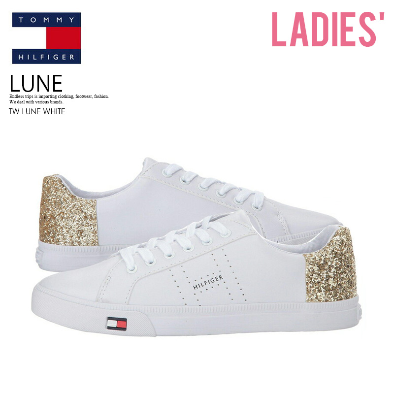 17fa718d9 TOMMY HILFIGER (トミーヒルフィガー) WOMENS LUNE (luna) WOMENS women sneakers WHITE  LL (white) TW LUNE WHITE ENDLESS TRIP ENDLESSTRIP end rest lip