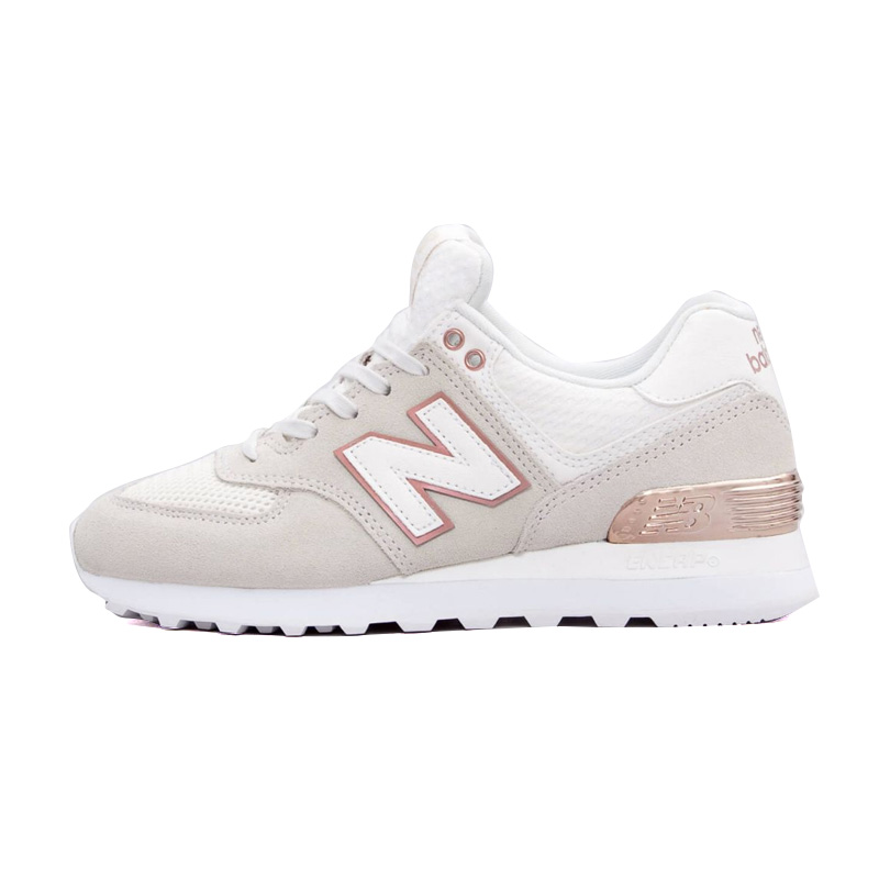 buy popular f2884 a59b8 NEW BALANCE (New Balance) 574 ALL DAY ROSE SNEAKER Allday Rose sneakers SEA  SALT/ROSE GOLD METALLIC (off-white / Rose gold metallic) WL574FSA end rest  ...