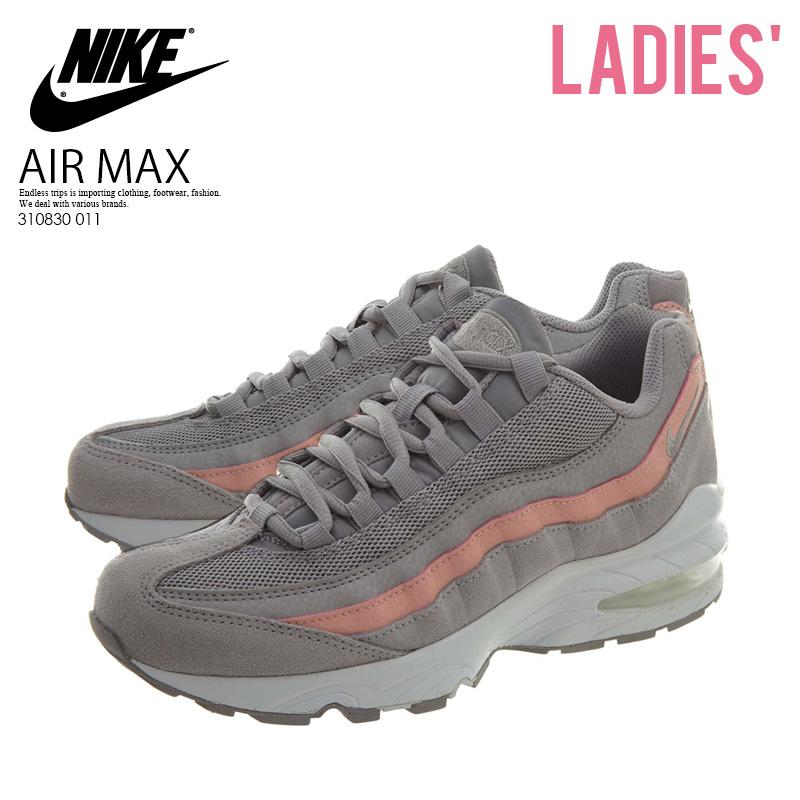 310830 015 GS Nike Air Max /'95 LE Phantom//Metallic Red Bronze-White