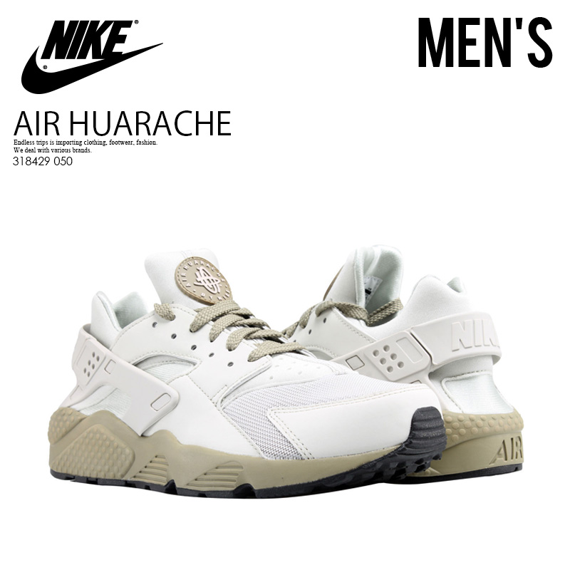 ef32d381c36c NIKE (Nike) AIR HUARACHE (エアハラチ) sneakers LIGHT BONE LIGHT BONE (light  Vaughn) off-white 318429 050 ENDLESS TRIP ENDLESSTRIP end rest lip