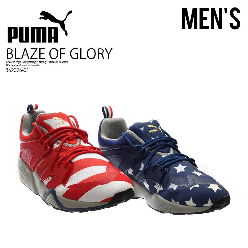 【日本未入荷! 海外限定! メンズ モデル】 PUMA (プーマ) BLAZE OF GLORY RWB