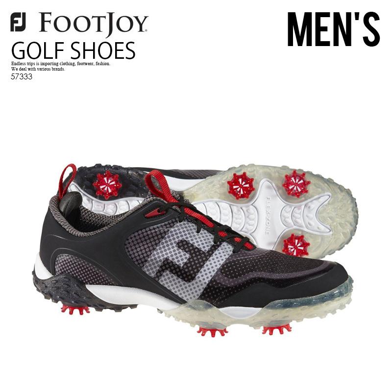 【希少!大人気!入手困難! メンズ 】FOOTJOY (フットジョイ) FREESYLE (フリースタイル) ゴルフシューズ ゴルフ BLACK/WHITE (ブラック/ホワイト) 57333 ENDLESS TRIP ENDLESSTRIP エンドレストリップ