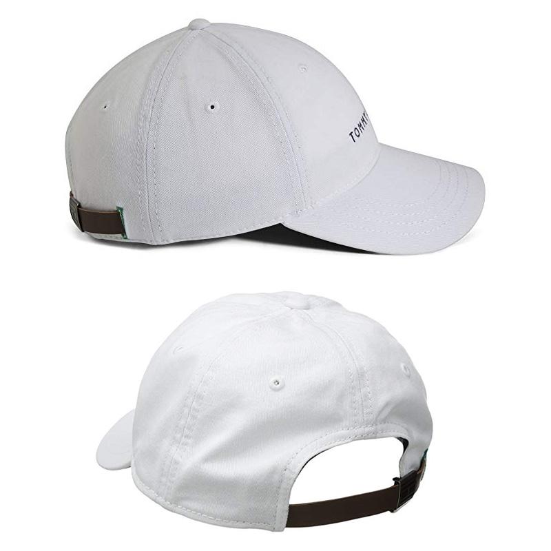 e020ad7d3 TOMMY HILFIGER トミーヒルフィガーローキャップカーブキャップ LOGO DAD BASEBALL CAP baseball cap  men gap Dis 6941823 100 (white) / 416 (navy) / 608 (red) / 017 (black) /  270 ...