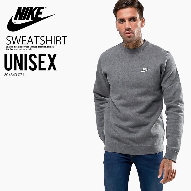 79d510ab5 NIKE (Nike) CLUB FLEECE CREW SWEATSHIRT (club fleece crew sweat shirt)  trainer ...