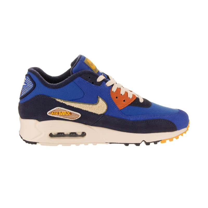 Nike Air Max 90 Premium SE Game Royal Light Cream 858954 400