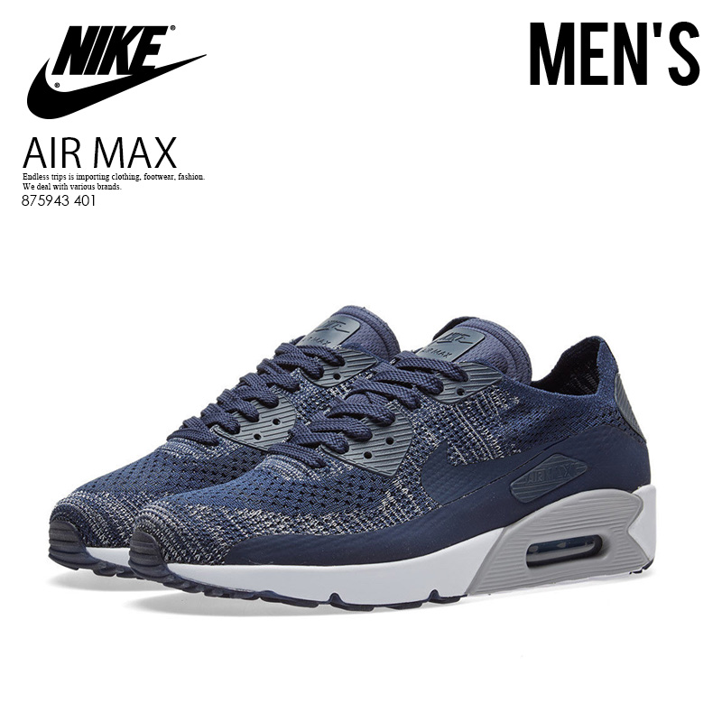 Air Max 90 Ultra Flyknit 2.0 Navy