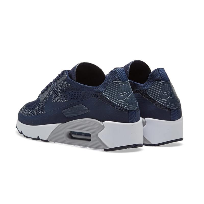 Rakuten shopping marathon! NIKE (Nike) AIR MAX 90 ULTRA 2.0 FLYKNIT (Air Max 90 ultra fly knit) MENS sneakers COLLEGE NAVYCOLLEGE NAVY (navy) 875943