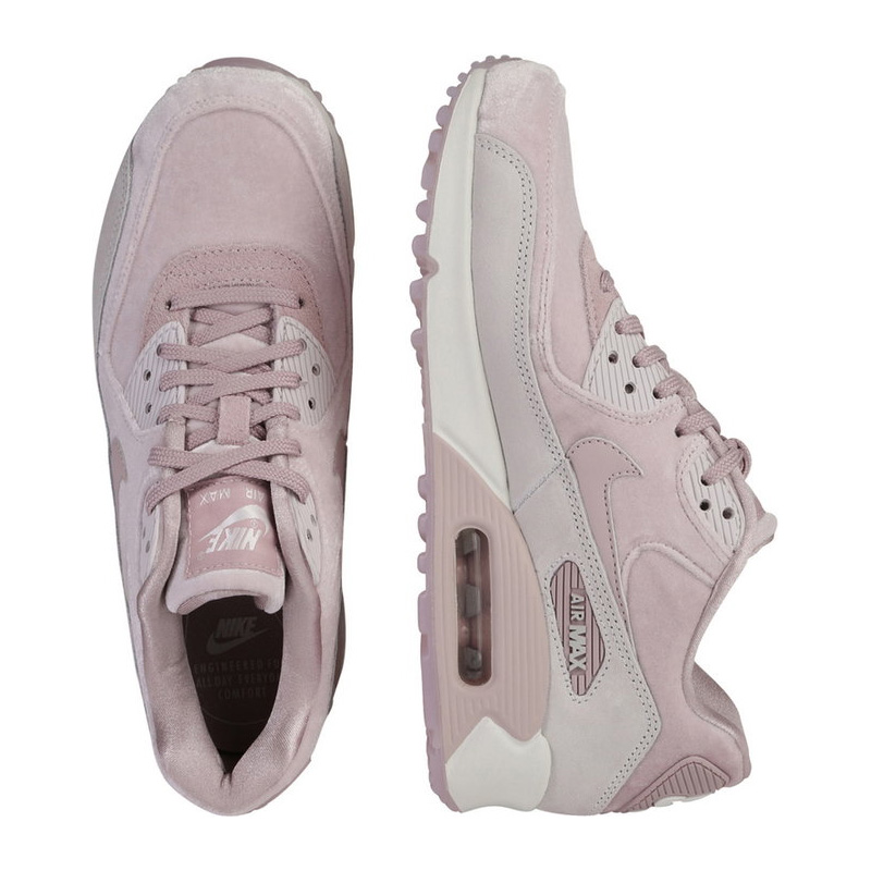 NIKE (Nike) WOMENS AIR MAX 90 LX (Air Max 90) WOMENS women sneakers velour Lady's sneakers (Rose) pink 898512 600