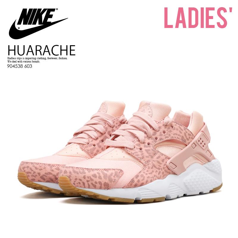 9e5cf4146490 NIKE (Nike) HUARACHE RUN SE (GS) (エアハラチラン) sneakers CORAL STARDUST RUST PINK  (pink) 904538 603 ENDLESS TRIP ENDLESSTRIP end rest lip