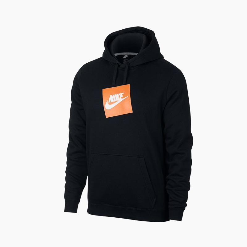 Rakuten shopping marathon! NIKE (Nike) BOX LOGO HOODIE (ボックスロゴフーディ) parka tops men gap Dis BLACKORANGE (black orange) 928719 010 ENDLESS TRIP