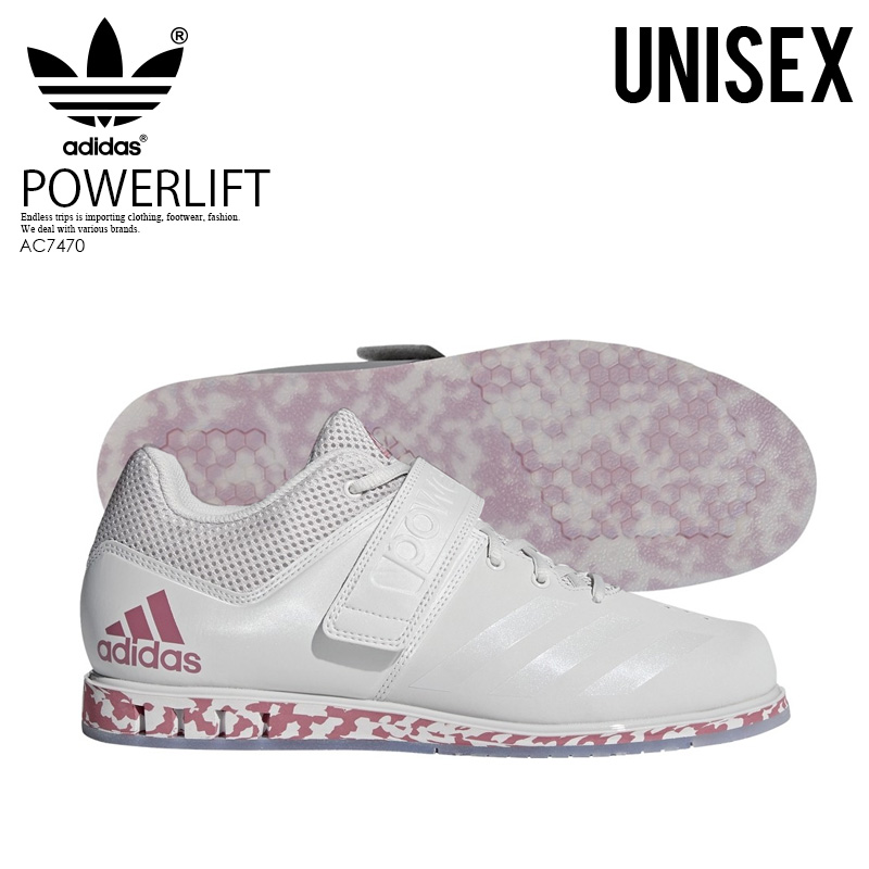 adidas (Adidas) POWERLIFT. 3.1 (power lift) men's lady's powerlifting weightlifting weight lifting shoes GREYTRACE MAROONGREY (gray red) AC7470