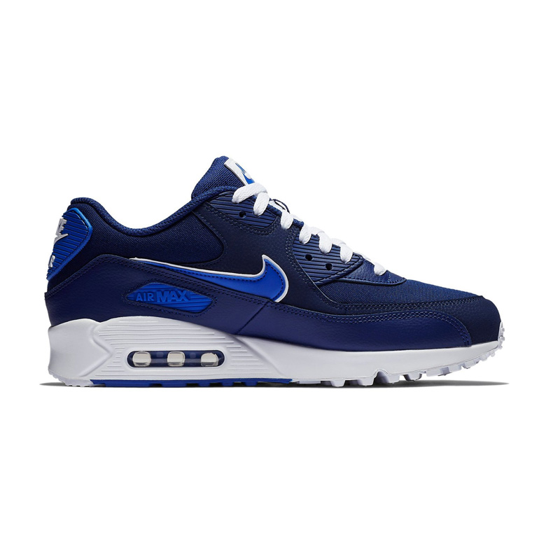 cf51788bce62 NIKE (Nike) AIR MAX 90 ESSENTIAL (Air Max 90 essential) sneakers BLUE VOID GAME  ROYAL-WHITE (navy   blue) AJ1285 401 ENDLESS TRIP ENDLESSTRIP end rest lip