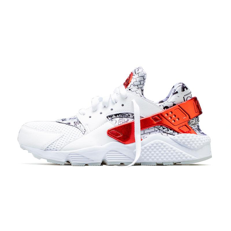 406e950aa68a NIKE (Nike) AIR HUARACHE RUN QS (SHOE PALACE 25TH ANNIVERSARY)  (エアハラチランシューパレス 25 weeks age anniversary) men s sneakers WHITE UNIVERSITY  RED ...