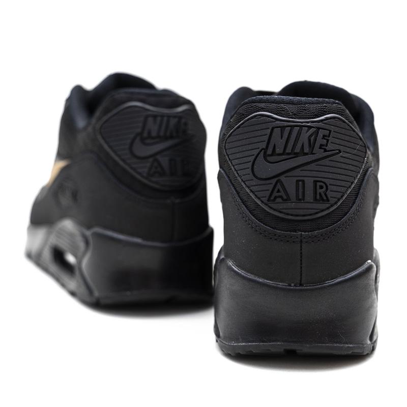 NIKE (Nike) AIR MAX 90 ESSENTIAL (Air Max 90 essential) sneakers BLACKMETALLIC GOLD (black gold) AV7894 001 ENDLESS TRIP ENDLESSTRIP end rest lip