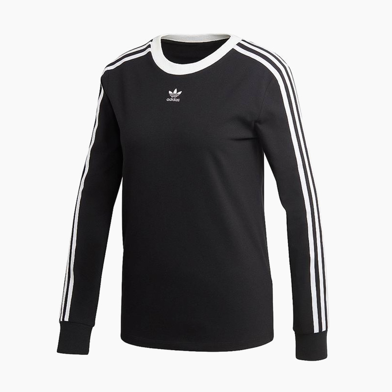 75f2bb0eec ... adidas (Adidas) WOMENS 3-STRIPES LONG SLEEVE TEE (3STRIPES LS) ...