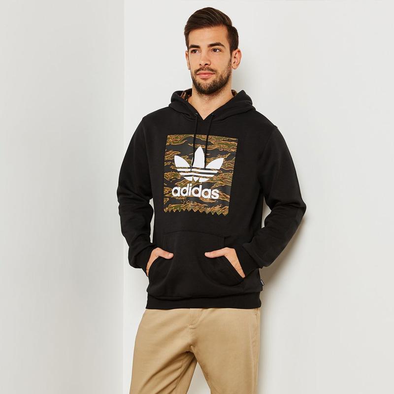 3433a874f ... adidas (Adidas) CAMOUFLAGE BLACKBIRD HOODIE (カモフラージュブラックバードフーディー) parka  pullover men