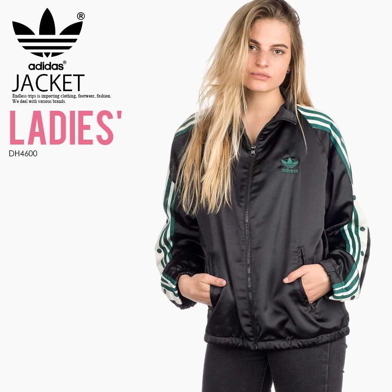 d4caa905 adidas (Adidas) ADIBREAK TRACK TOP SATIN JACKET (アディブレイクトラックトップサテンジャケット ...