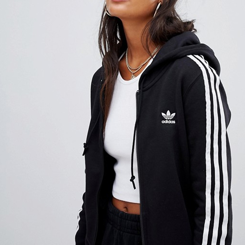 Endless Trip Adidas Adidas Womens 3stripes Zip Hoodie 3str Zip