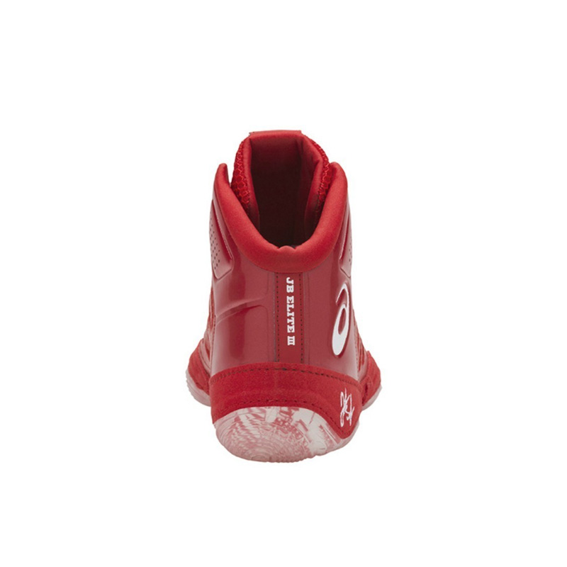 275110cffe64 Asics (ASICS) JB ELITE III MENS boxing training CLASSIC RED WHITE (classic  red   white) J702N 600 ENDLESS TRIP ENDLESSTRIP end rest lip