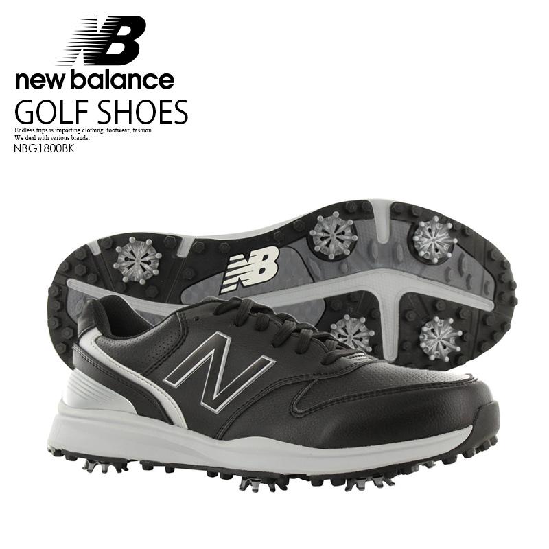 【お買い物マラソン】【日本未入荷!希少!メンズ ゴルフシューズ】 NEW BALANCE (ニューバランス) SWEEPER (スイーパー) MENS ゴルフ スパイク BLACK (ブラック) NBG1800BK ENDLESS TRIP ENDLESSTRIP エンドレストリップ
